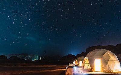 I 10 luoghi più belli dove dormire sotto le stelle