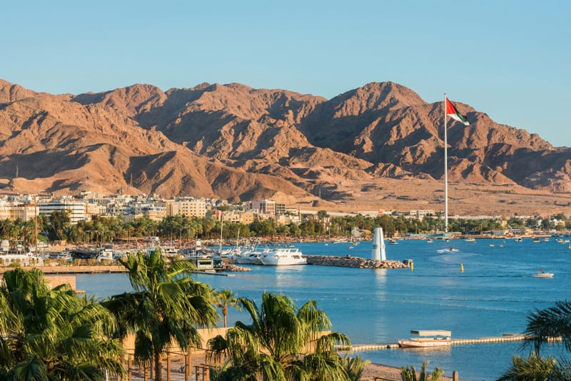 Il golfo di Aqaba
