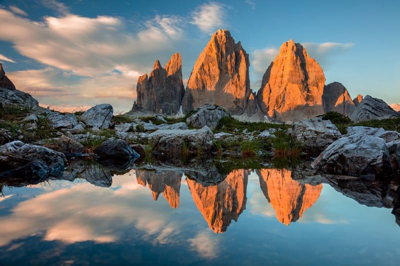 Cime di Lavaredo - Attrazioni naturalistiche in Italia
