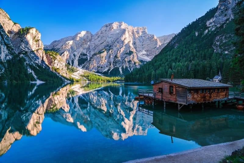 Lago di Braies - meraviglie naturali italiane