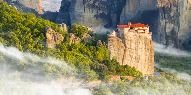 Grecia monasteri Meteore