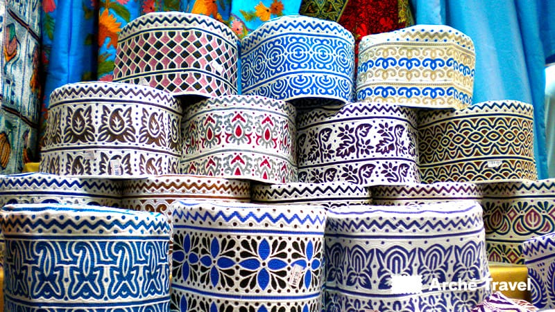 Cosa comprare in Oman, Cosa conviene comprare in Oman, tessuti