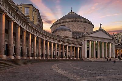 Piazza Plebiscito - Capodanno a Napoli 2020