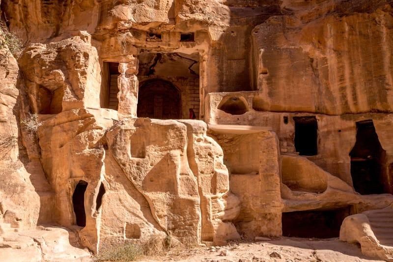 case nabatea piccola petra - Al-beidha piccola petra giordania