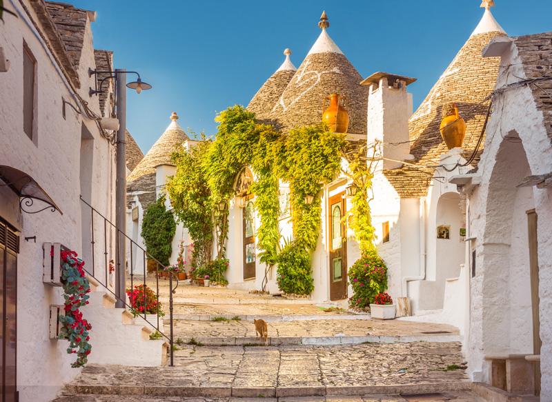 Siti patrimonio Unesco italia. Trulli Alberobello