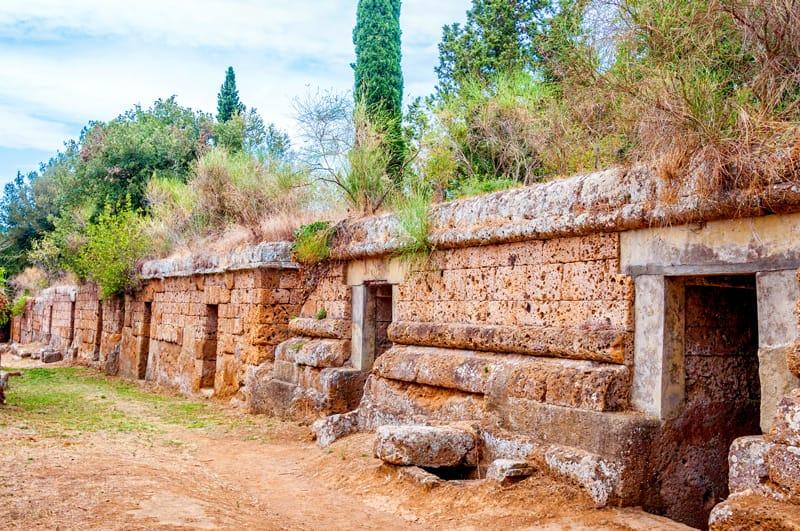 Siti patrimonio Unesco Italia, Necropoli etrusca Tarquinia