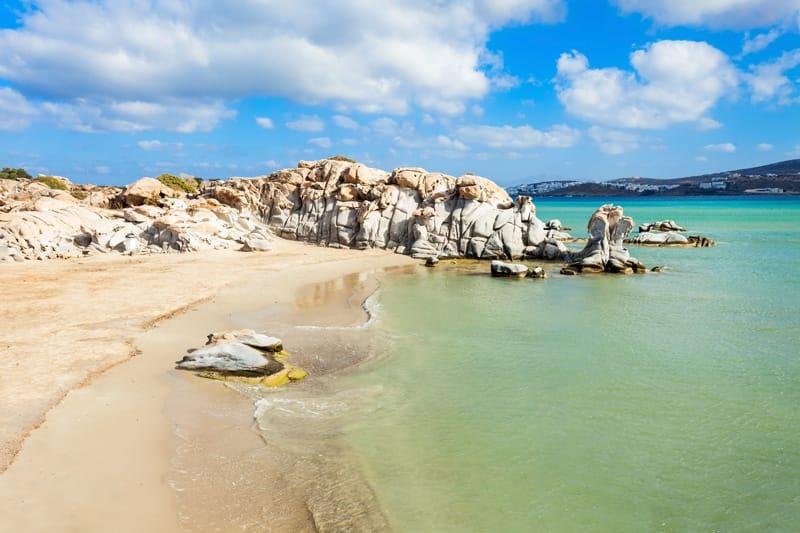 Kolimbithres spiagge più belle di Paros