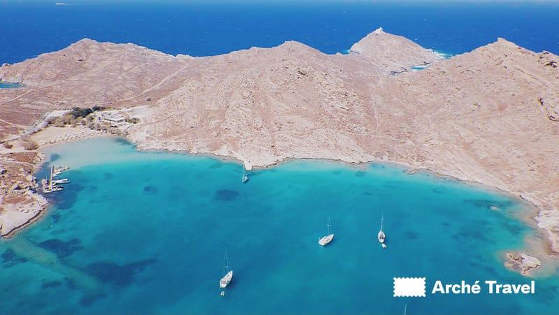 monastiri spiagge paros grecia