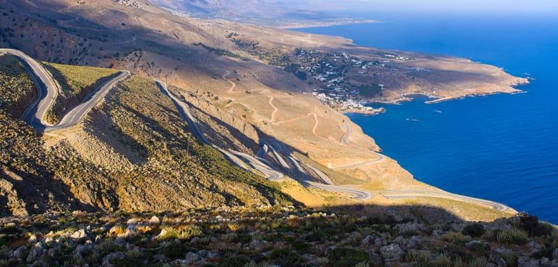 Chora Sfakion - Creta in libertà in auto