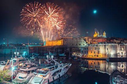 Capodanno a Malta - Tour Operator Malta