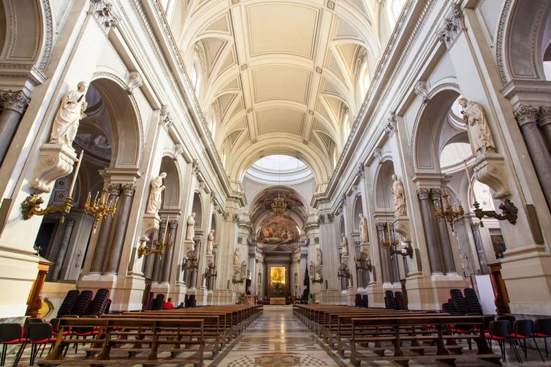 interni cattedrale di Palermo