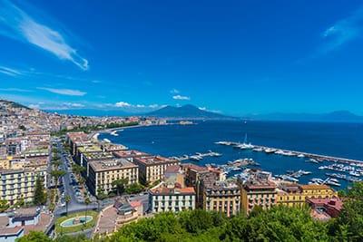 Veduta da Posillipo - Capodanno a Napoli 2020