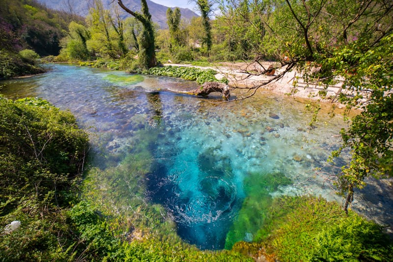 Occhio Blu - Albania
