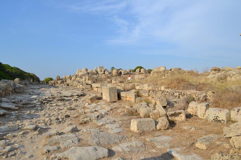 Necropoli selinunte parco archeologico cosa vedere
