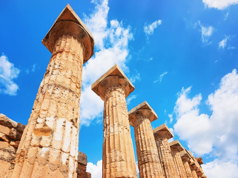 colonne tempio E selinunte cosa vedere