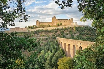 Ponte delle Torri a Spoleto - Gran Tour Umbria