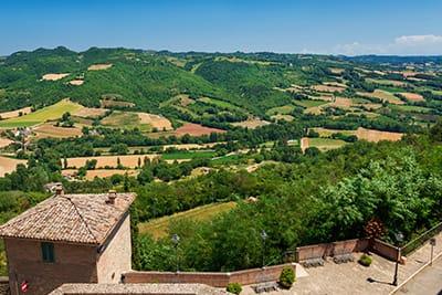Veduta da Montone - Tour di Capodanno in Umbria