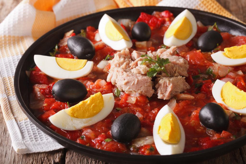 Mechouia, cibo tunisino, cucina tunisina