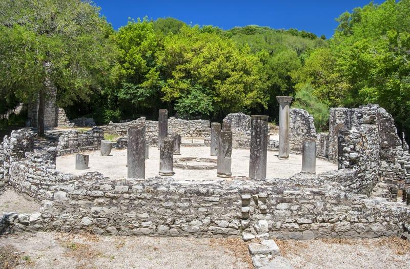 Storia Albania in breve - Butrinto