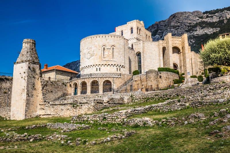 Storia dell'Albania in breve - Castello di Kruje