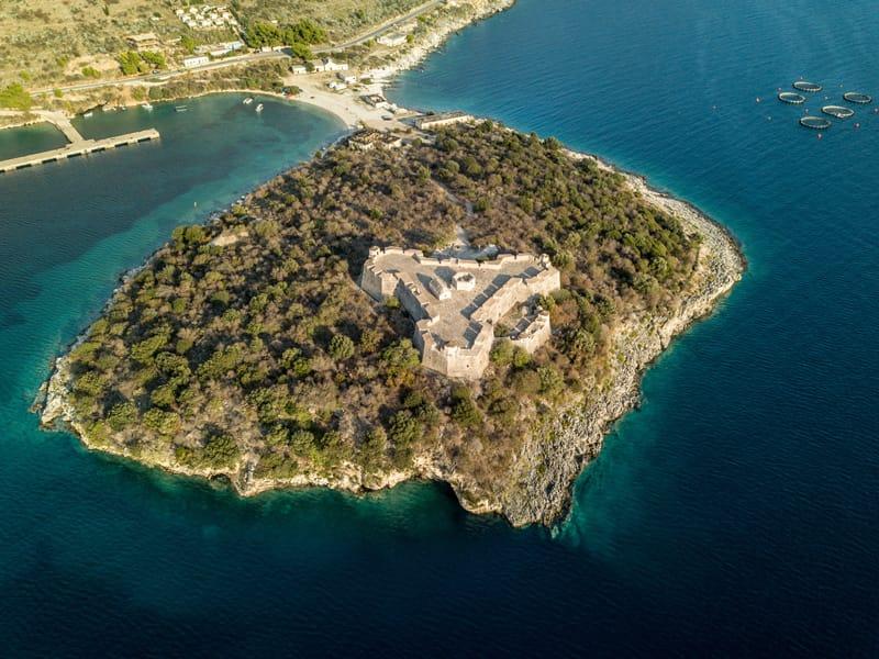 La storia dell'Albania in breve - Castello di Ali Pasha