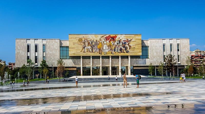 Storia dell'Albania - Museo Tirana