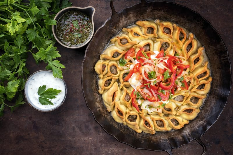 Cosa si mangia in Armenia, piatti tipici, cibo armeno, Manti