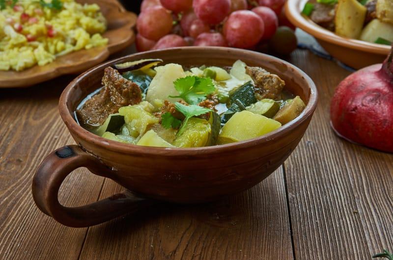 Kchuch, piatti tipici armenia