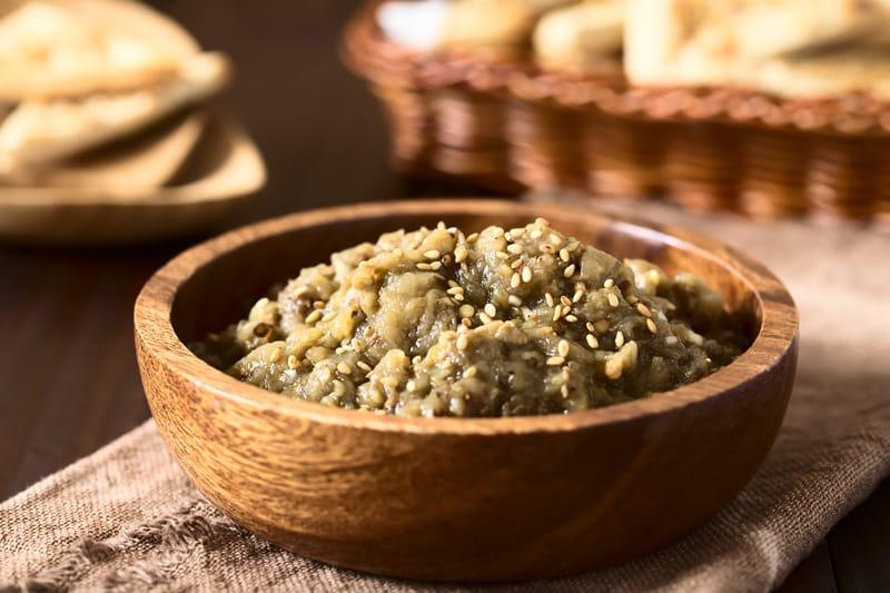 Babaganush, la crema di melanzane