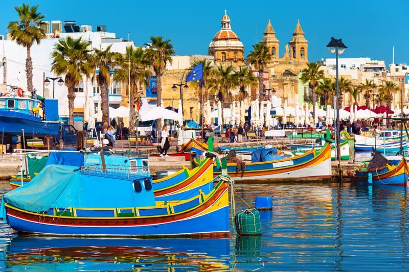 Marsaxlokk - Malta in 3 giorni