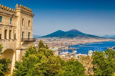 Vista dal Colle di San Martino - Gran Tour della Campania