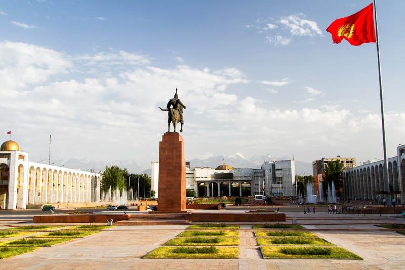 Bishkek capitale Kirghizistan