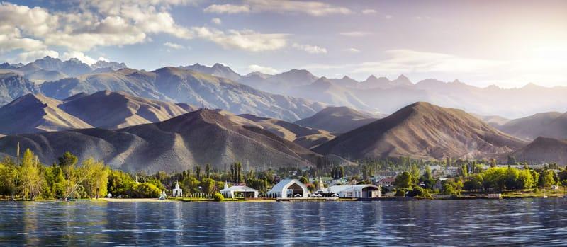 Stabilimenti termali lago Issyk-Kul
