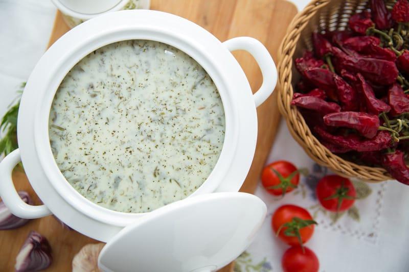Dovga, cosa mangiare in Azerbaijan