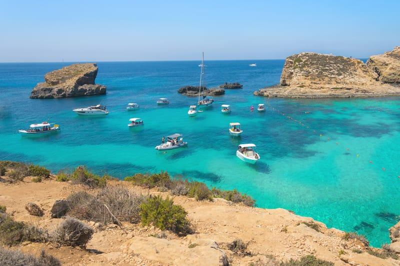 Cosa fare a Malta -  Escursione della Laguna Blu