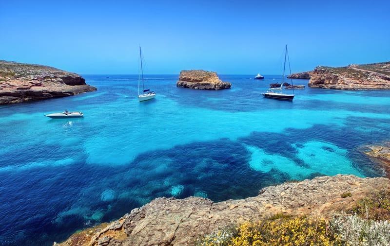Blue Lagoon Comino Island