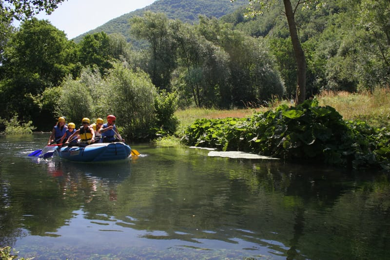 Cosa fare in Umbria - Rafting Valnerina