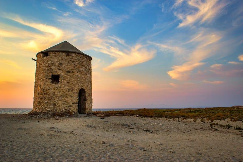 Agios ioannis spiaggia dei mulini