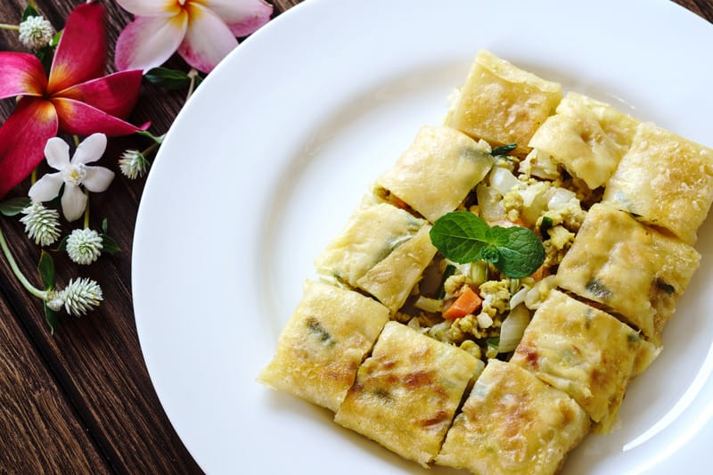 Mutabbaq, cucina saudita