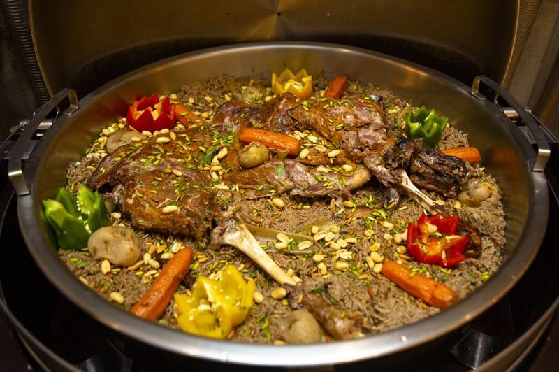 Lamb Ouzi, Cucina Arabia Saudita