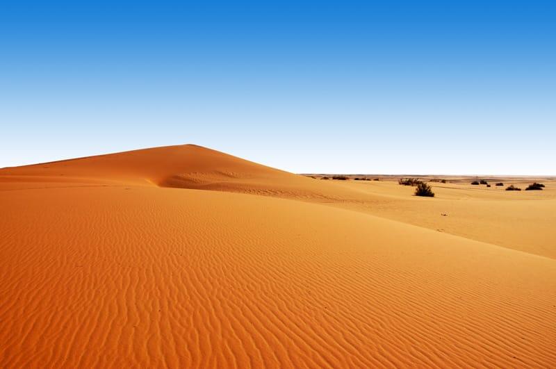 Quando andare in Arabia Saudita clima dell'Arabia Saudita