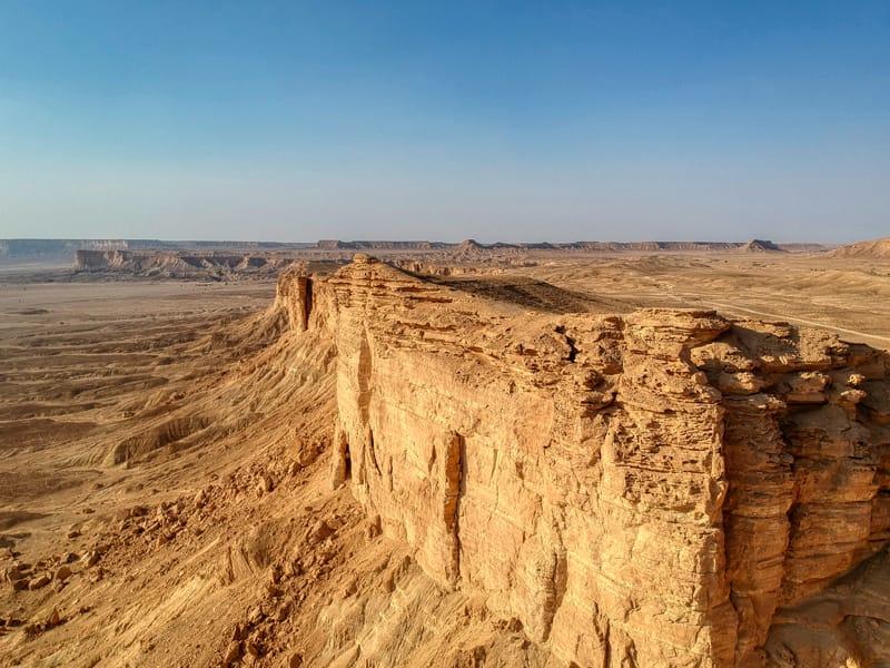 Riassunto della storia dell'Arabia Saudita storia dell'Arabia Saudita - Regno del Nejd Edge of the World