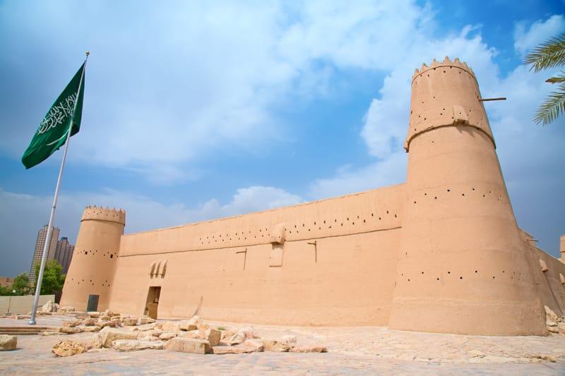 Arabia Saudita storia - Forte Masmak Emirato di Najd Secondo Stato Saudita
