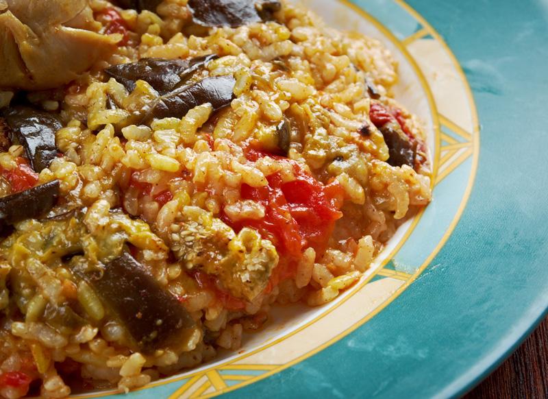 Maqluba, cucina Oman