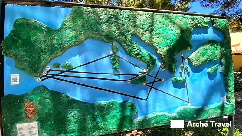 mappa Odissea Stavros