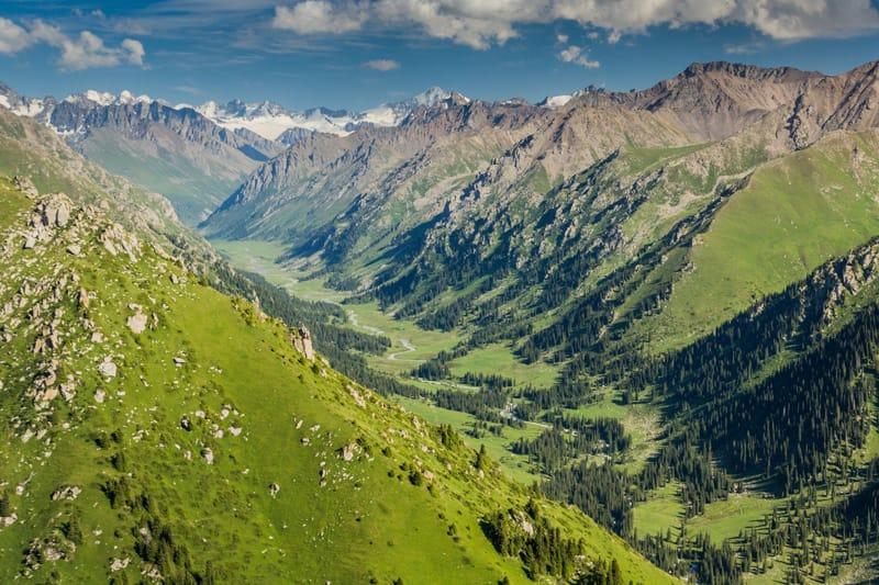 Ak Suu primi insediamenti Tien Shan - Kirghizistan Storia