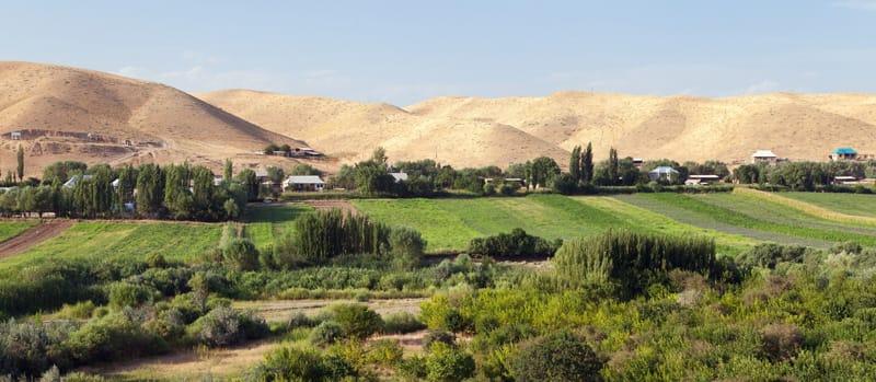 valle di Fergana, via della seta - Storia del Kirghizistan