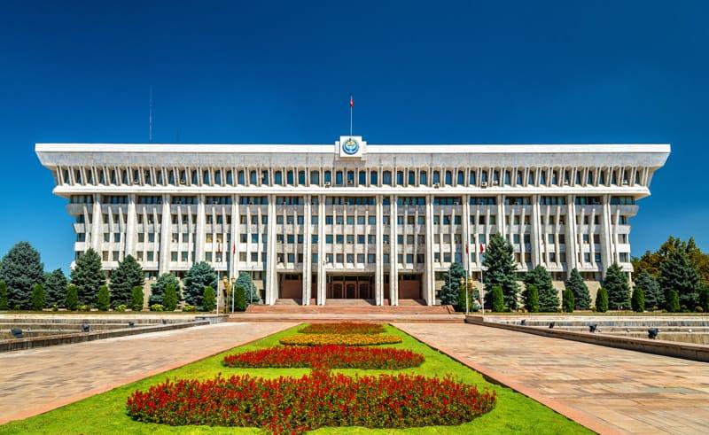 parlamento Kirghizistan - Storia Kirghizistan in breve