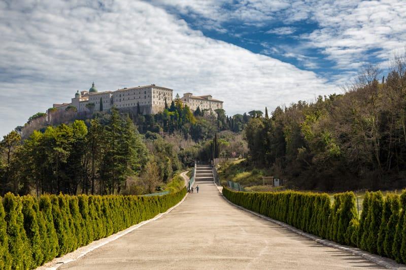 Cosa vedere nel Lazio cosa visitare - Cassino Abbazia Montecassino