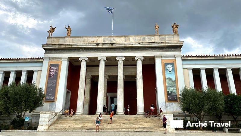 ingresso museo archeologico nazionale atene paisson 44